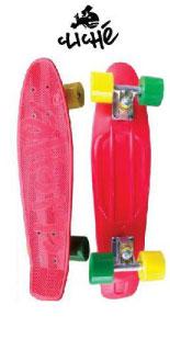 【送料無料】 CLICHE 【クリシェ】 コンプリートボード/PLASTIC CRUISER スケートボード