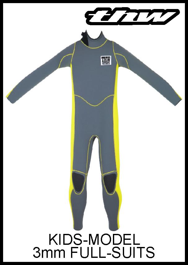 【簡単オーダー】 thw wetsuits KIDS/3ミリ フルスーツ 【子供用ウェットスーツ】 ☆送料無料☆