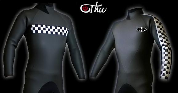 【チェッカーライン/オプション】 ウェットスーツご購入の際のオプションです。