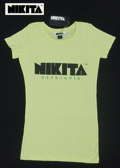 NIKITA【ニキータ】 Tシャツ Reykjavik イエロー/Sサイズ