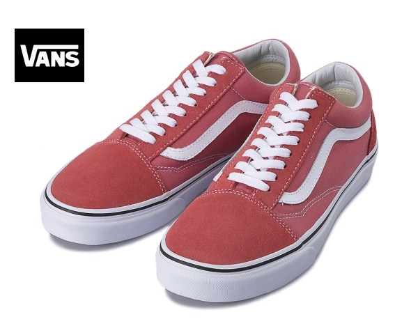 【VANS】 OLD SKOOL    Faded Rose/True White