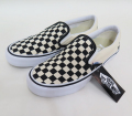 【VANS】 CLASSIC SLIPON PRO/CHECKERBOARD (BLACK/WHITE)