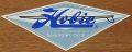 HOBIE SURFBORDS(ホビー サーフボード) ステッカー/Lサイズ ブルー