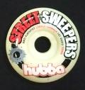 hubba【フーバ】 スケートボード【ウィール】 52mm STEEERT SWEEPERS/レッド