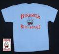 BIRDWELL【バードウェル】 KIDS/Tシャツ(子供用) サックス/FLAG