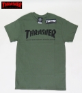 【THRASHER/スラッシャー】 Tシャツ/SKATE MAG AMY GREEN/Sサイズ