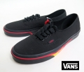 【VANS】 AUTHENTIC  FLAME   WALL/BLACK   26.5cm/US8.5