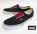 【VANS】 AUTHENTIC  SKETCH SIDEWALL/BLK   26.5cm/US8.5