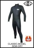 国内最強起毛素材 【送料無料】 thw wetsuits 【セミドライ/インナーネック標準装備】 クラシック 【エアフレイムレガシー仕様】レディースあり