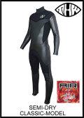 国内最強起毛素材 【送料無料】 thw wetsuits 【セミドライ/エアフレイム マイティー】 クラシック/ノンファスナー ウェットスーツ  【レディース有り】