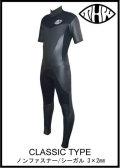 【送料無料】 thw wetsuits 【ノンファスナー/シーガル】 クラシックタイプ 【レディース有】