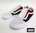 【VANS】 OLD SKOOL/RetroBlock (WHT/RED/NVY) 26.5cm/US8.5