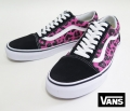 【VANS】 OLD SKOOL  REOPARD/PINK  26.5cm/US8.5