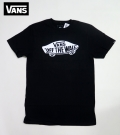 【VANS】 Tシャツ OFF THE WALL BLK USA企画商品