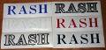 【RASH WETSUITS】ラッシュウェットスーツ 【ステッカー】 003