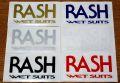 RASH Wetsuits (ラッシュウェットスーツ) ステッカー/Sサイズ 004