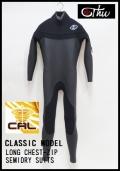 ロングチェストジップ 5×3mmセミドライ/クラシックモデル  【軽量伸縮起毛素材 カール仕様】 thw wetsuits  送料無料