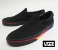 【VANS】 CLASSIC SLIPON  FLAME   WALL/BLACK   26.5cm/US8.5