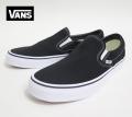 【VANS】 CLASSIC SLIPON /BLACK  26.5cm/US8.5