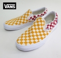 【VANS】 CLASSIC SLIPON /CHECKER BOARD MULTI 26.5cm/US8.5