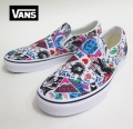 【VANS】 SLIPON  MASH UP STICKERS 26.5cm/US8.5