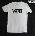 【VANS】 Tシャツ CLASSIC FIT/ WHITE USA企画商品