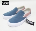 【VANS】 CLASSIC SLIP-ON PRO/Goblin blue/Mahogany Rose  26.5cm/US8.5