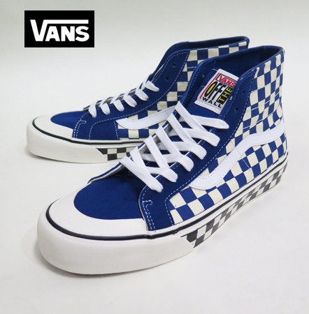 【VANS】 SK8-HI  138  DECON SURFLINE/CHECKER BOARD 26.5cm/US8.5