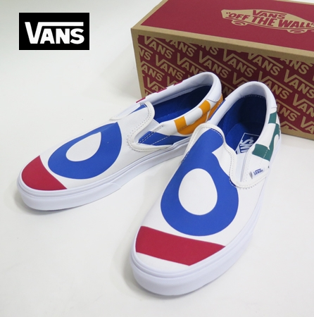【VANS】 SLIPON  Blanc66/DECK CLUB 26.5cm/US8.5