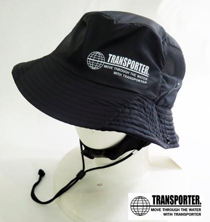 TRANSPOTER(トランスポーター) サーフハット ブラック/メンズ