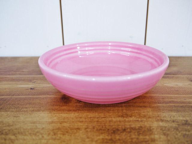 BAUER BERRY BOWL (陶器製フードボウル) ピンク