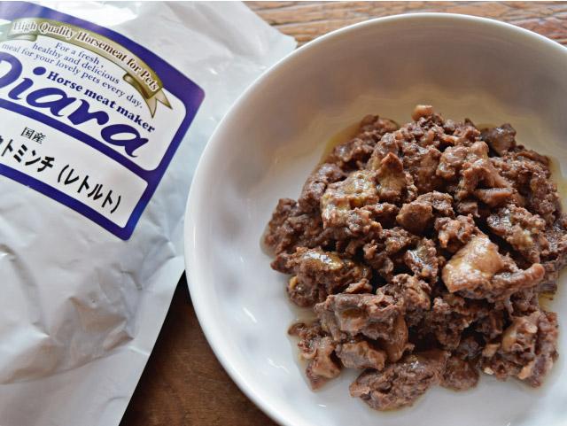 Diara ディアラ 馬肉パーフェクトミンチ レトルトパック 200g