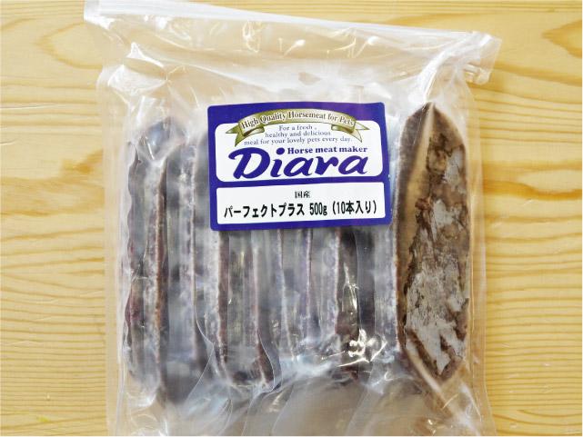 冷凍生馬肉 Diara ディアラ 馬肉パーフェクトミンチ・プラス 真空パック500g