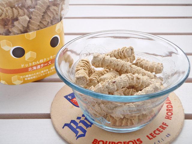 ドットわん枝クッキー 北海道チーズ