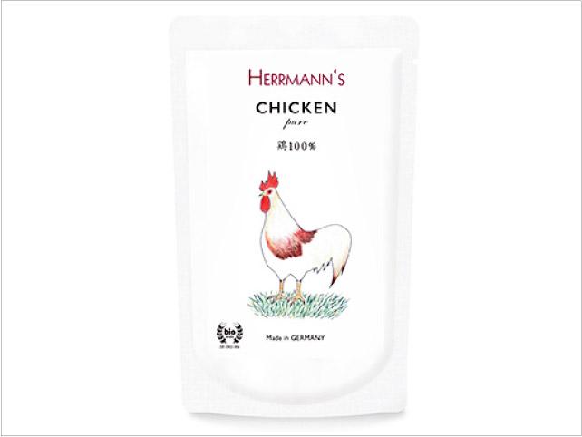 へルマン ピュア・チキン(有機鶏100%)
