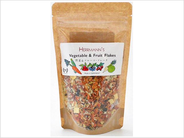 へルマン 野菜&フルーツ・フレーク(有機100%)
