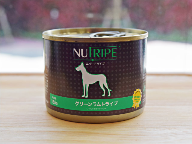 NUTRIPE ニュートライプ グリーンラムトライプ 185g