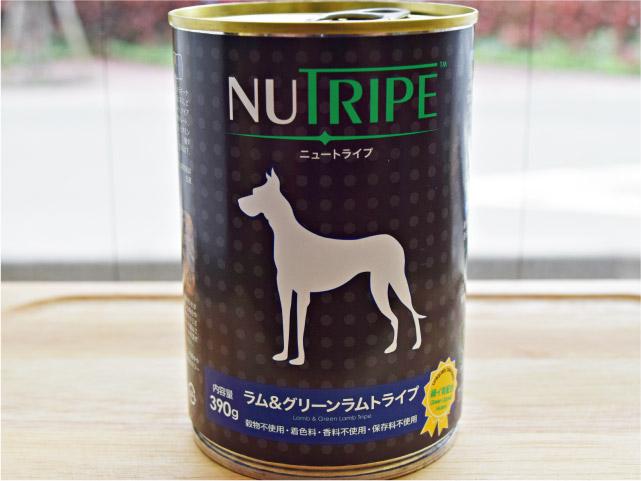 NUTRIPE ニュートライプ ラム&グリーンラムトライプ 390g
