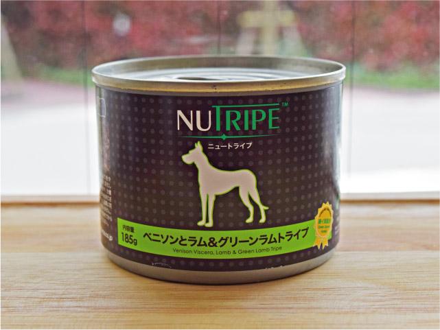 NUTRIPE ニュートライプ ベニソンとラム&グリーンラムトライプ 185g