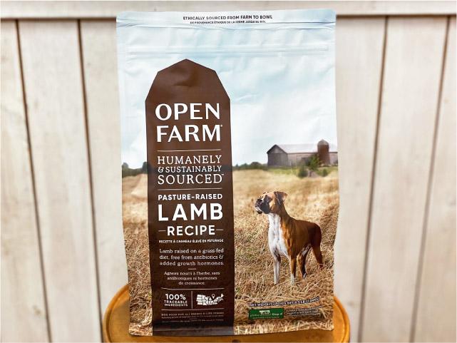 OPEN FARM オープンファーム ドッグフード ラムレシピ