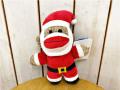 ドッグトイ 犬のおもちゃ ソックモンキー サンタ