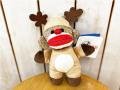 ドッグトイ 犬のおもちゃ ソックモンキー トナカイ