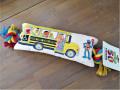 ドッグトイ 犬のおもちゃ セサミストリートシリーズ スクールバス