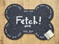 O.R.E PET リサイクルラバー ペットプレスマット Fetch!