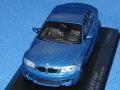 ミニチャンプス 1/43 BMW 1シリーズ Mクーペ 2011 (ブルーメタ)