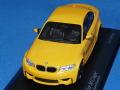 ミニチャンプス 1/43 BMW 1シリーズ Mクーペ 2011 (イエロー)