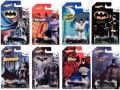 ホットウィール 1/64 バットマン 75 Years エディション (バットモービル 8種セット)