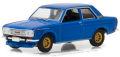 グリーンライト (TokyoTorque Series 2) 1/64 ダットサン 510 ストリートレーサー 1968 (ブルー)