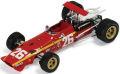 ★特価品★ イクソ 1/43 フェラーリ 312 F1 1968 フランスGP 優勝 No.26