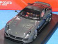 アイドロン 1/43 フェラーリ 599XX プロトタイプ (グラファイト/ブラックルーフ)